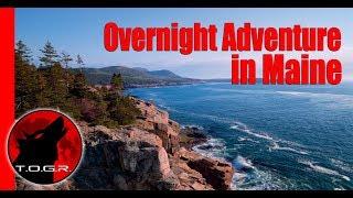 24 Hours on Maine's Coast - Overnight Adventure