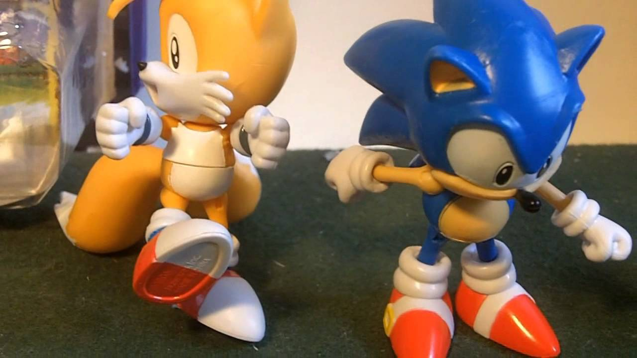 Figure Reviews Classic Tails And Sonic 3 Inch Jazwares Youtube
