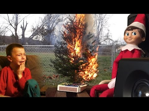 Thumbnail: ELF ON THE SHELF CHRISTMAS FIRE PRANK