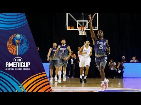 Dominican Republic vs Uruguay - Highlights - FIBA AmeriCup 2017