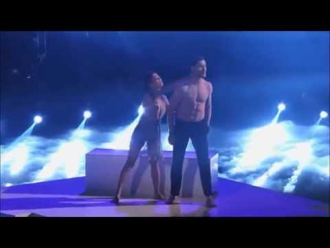 Janel Parrish & Val Chmerkovskiy  Freestyle