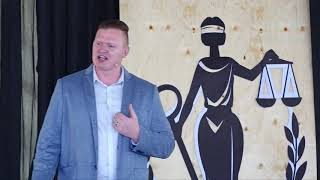 Transformed from the inside out: grace and redemption from prison | Shane Taylor | TEDxLuziraPrison