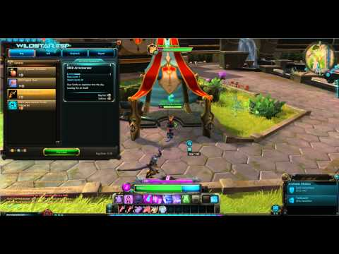 Wildstar DRED NPC at Illium ~ Dominion Capital City (beta client)