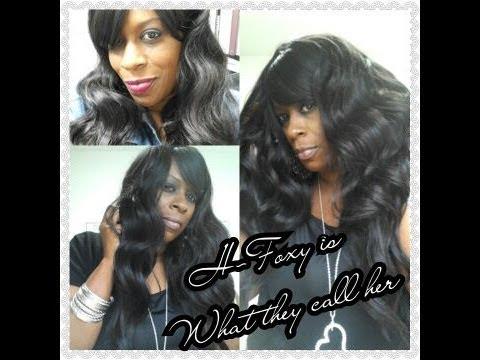 R&B 21 Tress 100%  HH Blend H-Foxy Wig Review