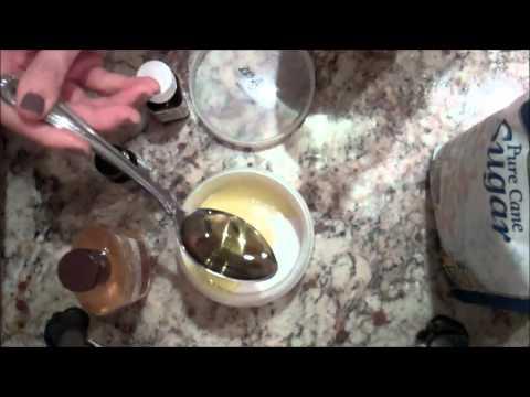 Natural Homemade Body Scrub for Supple Skin