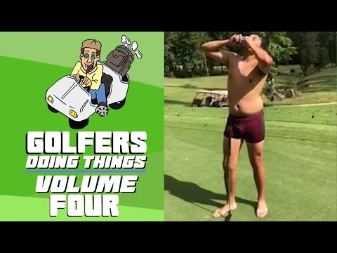 Best Golf Fails & Tricks Vol. 4 | Golfers Doing Things