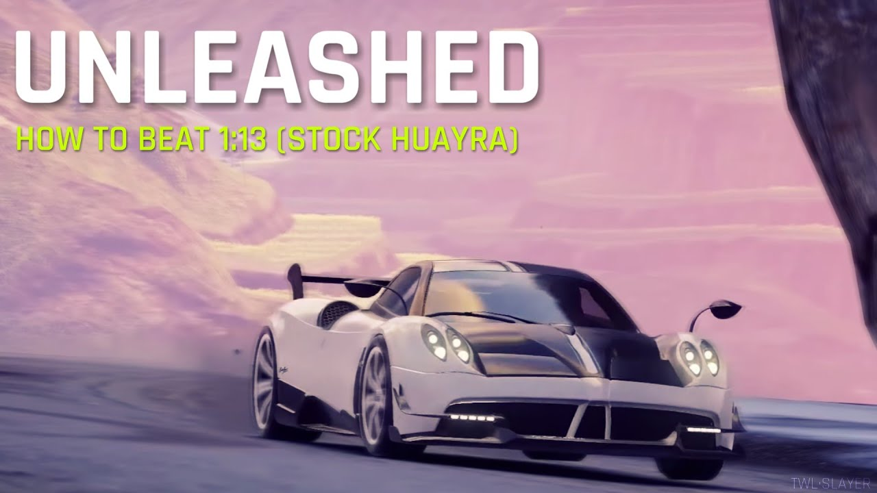pagani huayra bc: unleashed - how to beat 1:13 | asphalt 9: legends