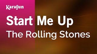 Karaoke Start Me Up - The Rolling Stones *