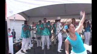 Calgary School of Samba plays the Calgary Lilac Festival 2009/MAY/31 part 2