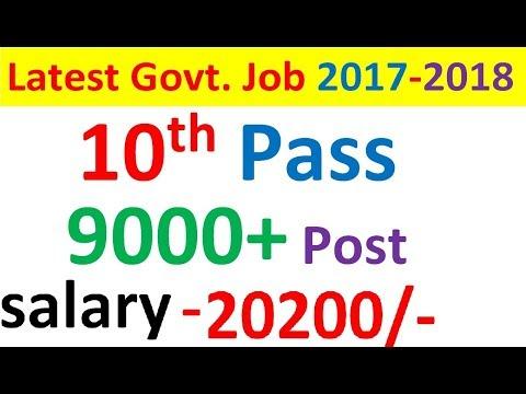Latest Govt. Job  2017-2018 | TNPSC 9351 Post 2017| Tamil Nadu Public Service Commission 9351 POST