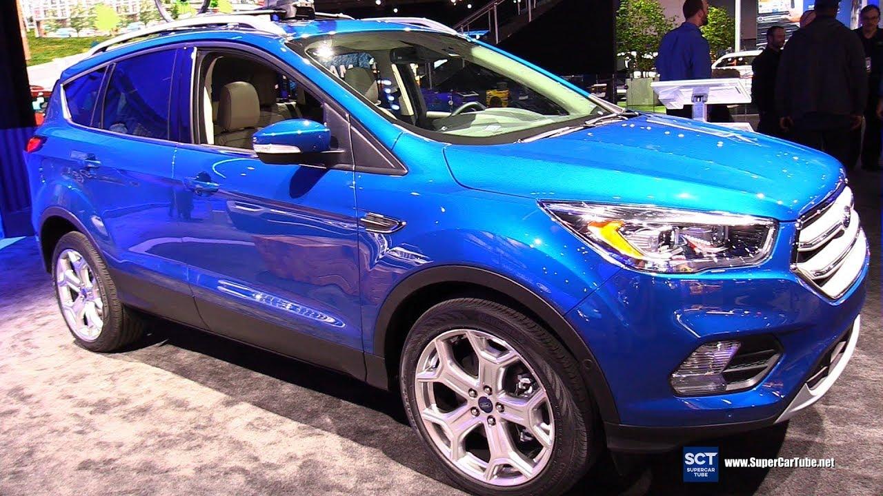 2019 ford escape titanium exterior and interior walkaround 2019 detroit auto show