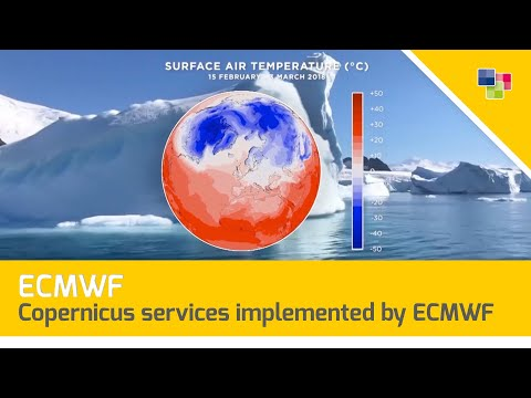 ECMWF - Copernicus Services Implemented By ECMWF - European State Of The Climate Event 10.04.2018