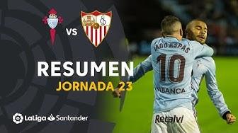 Resumen de RC Celta vs Sevilla FC (2-1)