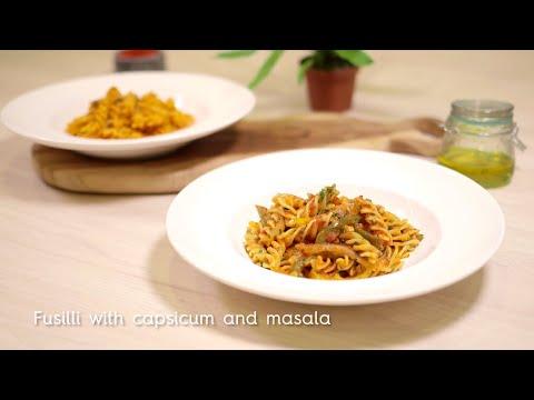 Fusilli with capsicum and masala | Barilla Pasta Recipes | Chef Ranveer Brar