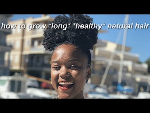TOP 5 NATURAL HAIR GROWTH TIPS!!!