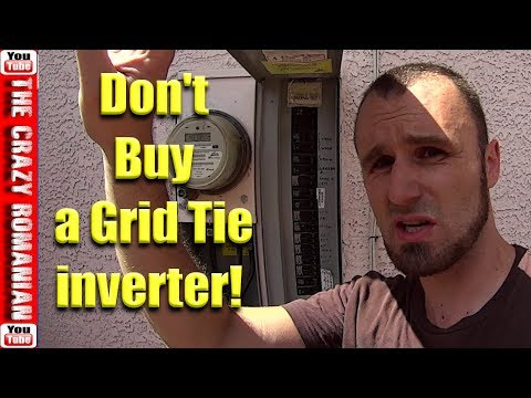 Don't Buy a SOLAR Grid Tie inverter with power limiter until you watch this video