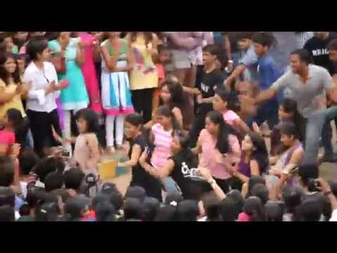 Ssit Tumkur The Flash Mob Dace Kalotsava 2k14..