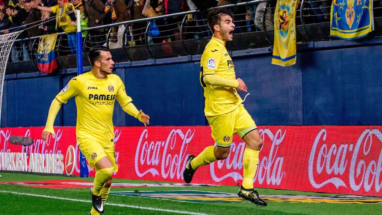 Villarreal 3-0 Atlético Jornada 15 LaLiga 2016/17