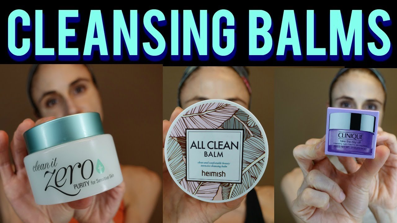 Cleansing balm review: BANILA CO, HEIMISH, CLINIQUE