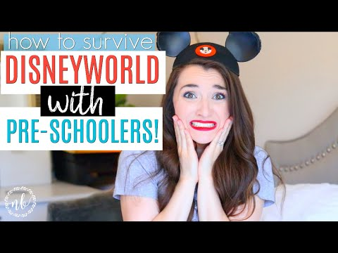How To Survive DISNEY WORLD WITH PRE-SCHOOLERS! | Tips and Tricks | Natalie Bennett