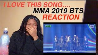 REACTION | BTS (방탄소년단) Intro: Persona + 상남자(Boy In Luv) + (Boy With Luv) + 소우주 + Dionysus @ 2019 MMA