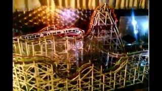Personally Designed Wooden Model Roller Coaster/2