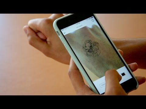 Augmented Reality Tattoo App Helps You Think Before You Ink - Newsy