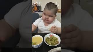 เด็กอ้วนกินจุ!! กินเยอะไปละนะอ้วน