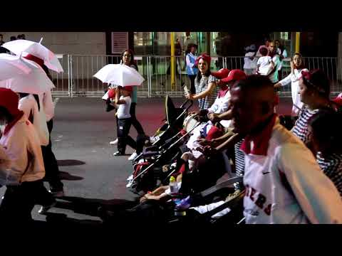 """Surrey Estate"""" Rangers""""  Cape Malay Choir Cape Town New Years Eve Party 2017  Wale street Bo-Kaap"""