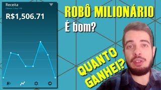 robô milionário é mentira