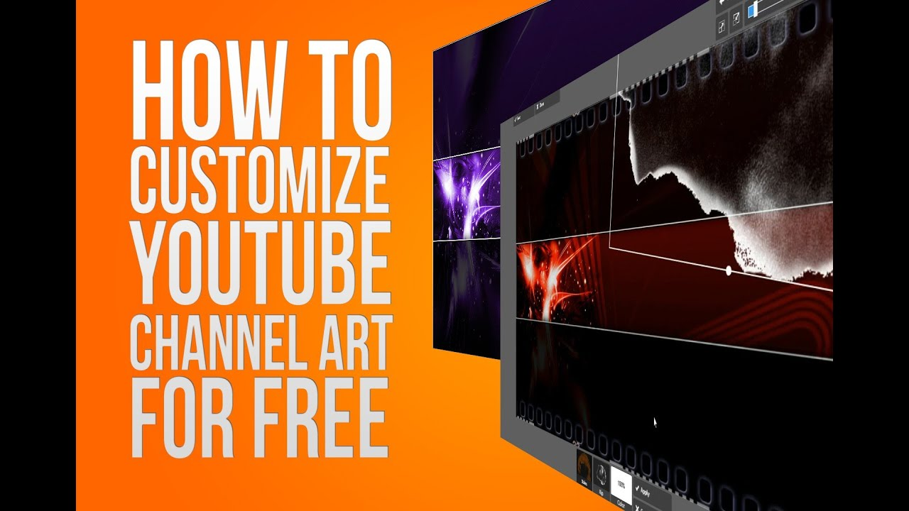 How to Customize YouTube Channel Art for Free Online - YouTube