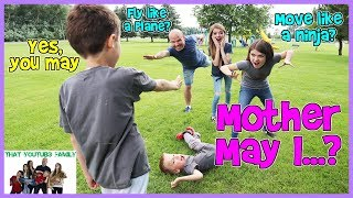 PLAYGROUND GAMES - Mother May I?