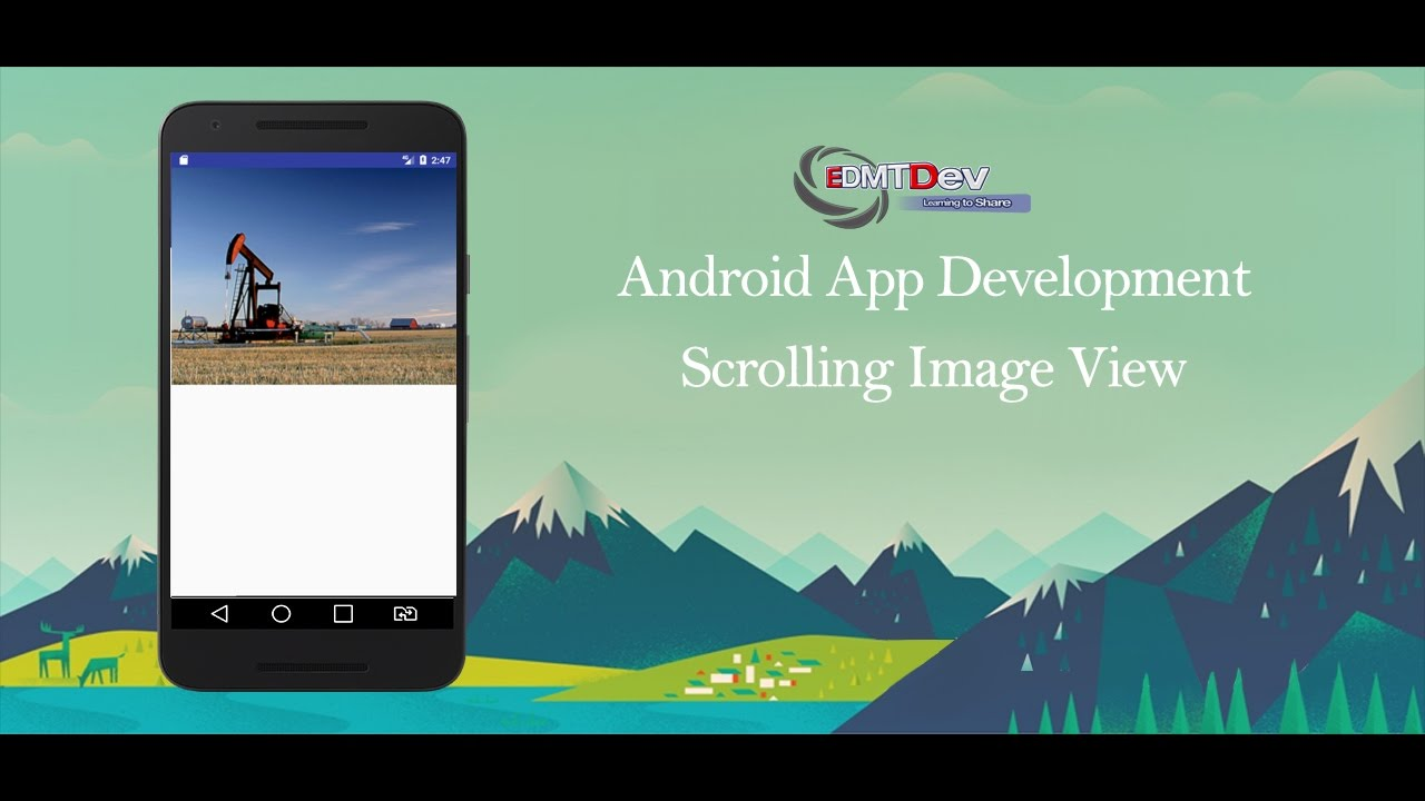 Android Studio Tutorial - Scrolling Image View