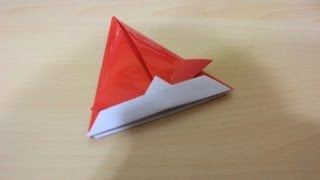 How To Make Origami Long Samurai Hat