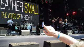 Heather Small Voice of M People Let's Rock The Moor 2018