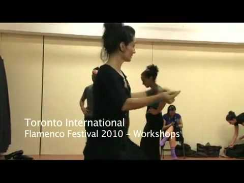 Dance workshop by Maribel Ramos. Toronto International Flamenco Festival.mp4
