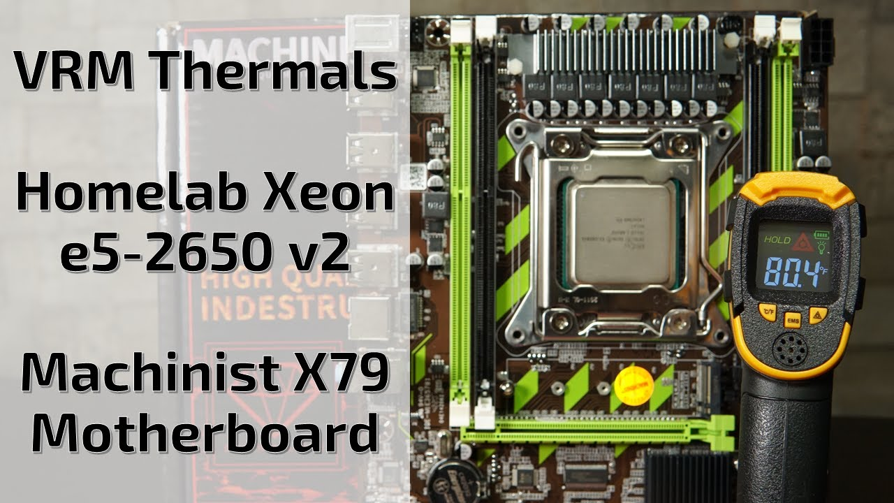 image from VRM Thermals for X79 Motherboard with Xeon E5 2650v2