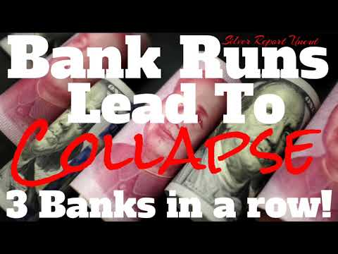 Bank Runs In China! Now The Collapse Of 3 Major Banks