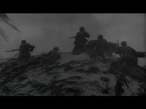 Battle of Tarawa US Marines Land on Betio Island I Was There Series Army Navy Screen Mag WW2 Footage