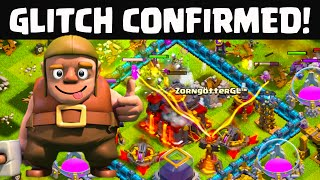 Clash of Clans - GLITCH, or no Glitch? CRAZY Replays that Don't Look Right...