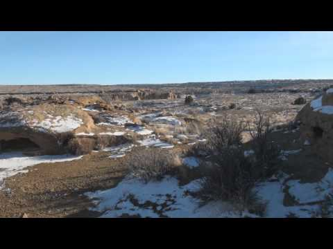The Ether Ship lands in Chaco Canyon