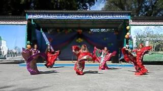 Цыганский танец. Дети 10-12 лет