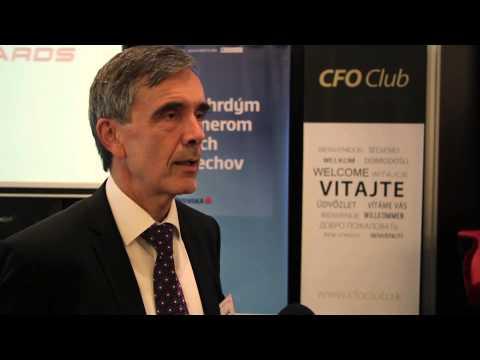 Štefan Máj Interview časť 1 | CFO Fórum Slovensko 2014, Bratislava