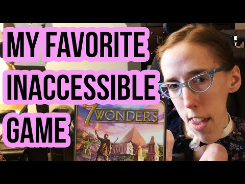 7 Wonders: My Favorite Inaccessible Game - The Geeky Gimp Vlog thumbnail