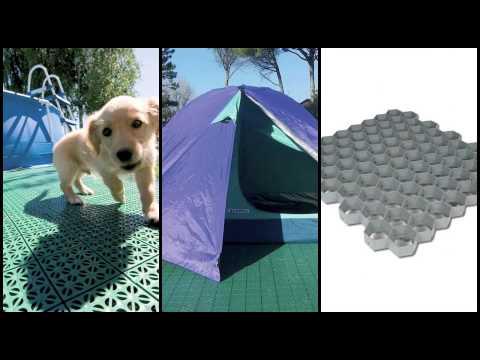 Piastrelle e pavimentazioni in plastica per esterno e giardino  YouTube