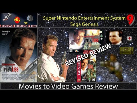 Movies to Video Games Review - True Lies (SNES/GEN) | [REVISED REVIEW]