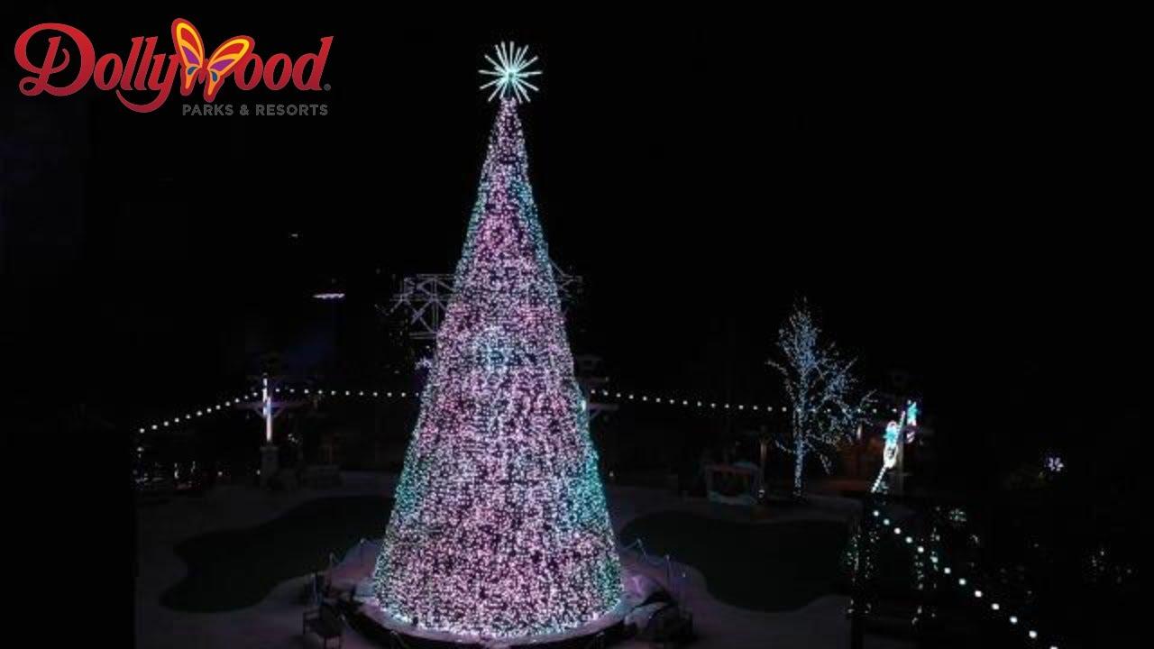 100% authentic 90d49 6e89b Glacier Ridge - Dollywood's Largest Christmas Expansion EVER
