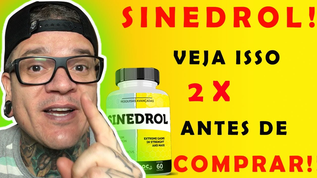 sinedrol promoção