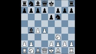 Шахматы. Ловушки в дебюте.  Защита Боголюбова