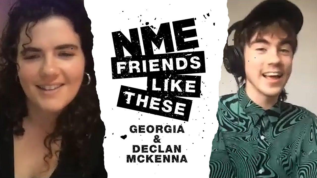 NME Friends Like These: Georgia x Declan McKenna